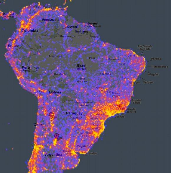 lugares mais fotografados brasil