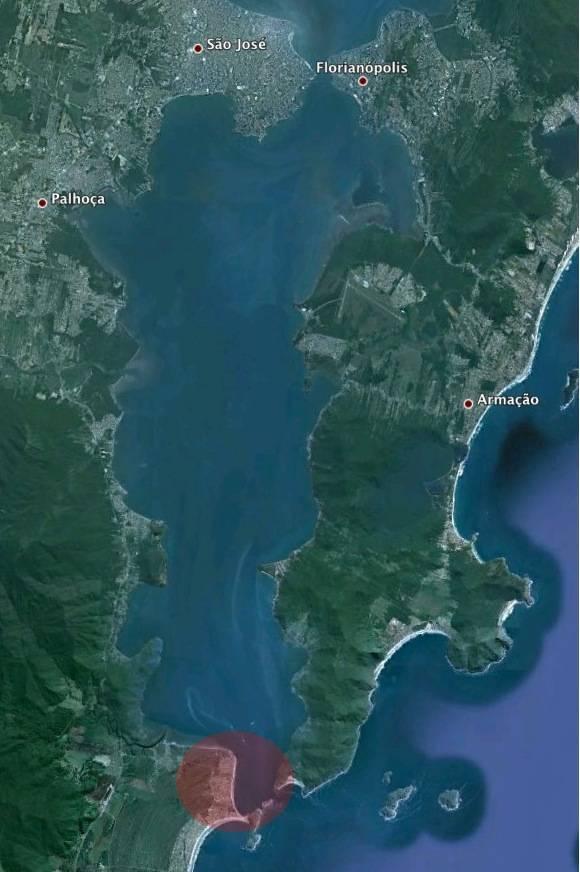 Praia do Sonho, o lixão da Grande Florianópolis